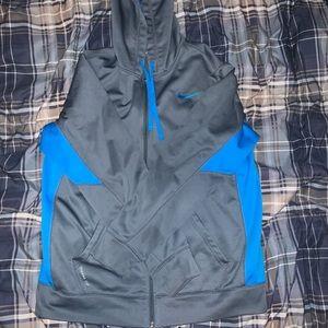 Nike Zip Up thermal hoodie
